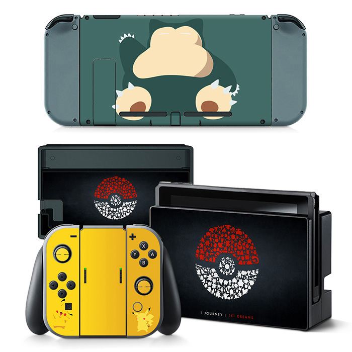 For Nintend Switch console and controller sticker For Nintend Switch Skin Sticker NS Game Console Vinyl Sticker--5184 1