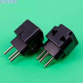 cltgxdd 1to2 Universal AU EU US UK To Switzerland Plug Swiss Plug Socket Travel Wall AC Power Charger Outlet Adapter Converter