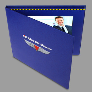 Image 3 - custom made hardcover 7inch Screen Brochure Universal Video Greeting Cards Fashion Design Video Advertising Cards
