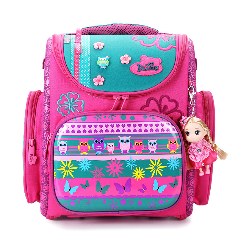 America and European Children School Bag Girls Boys Backpack Cartoon Mochila Infantil Large Capacity Orthopedic Schoolbag