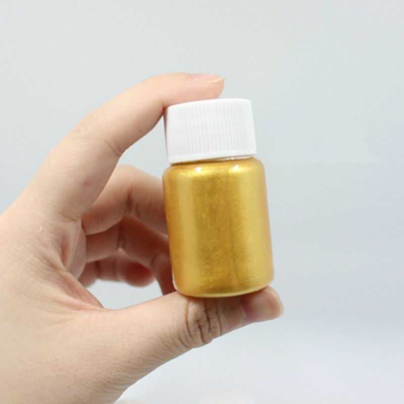 Portable Small Package Gold Pigment Novice Acrylic Paint Supplementary Painting 25ML