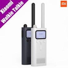 Оригинальный Xiaomi mijia Smart портативной рации с FM радио Динамик в режиме ожидания 8 дней смартфон приложение местоположение доли Быстрый команды говорить