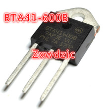 50PCS BTA41-600B TO-3P BTA41-600 TO3P BTA41600B 41-600B new and original 20pcs 2sc2625 to 3p c2625 to3p power transistors 10a 400v 80w new and original free shipping