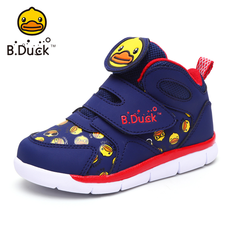 2018 B.Duck Winter Children Sneakers Mid Cut Boys Shoes