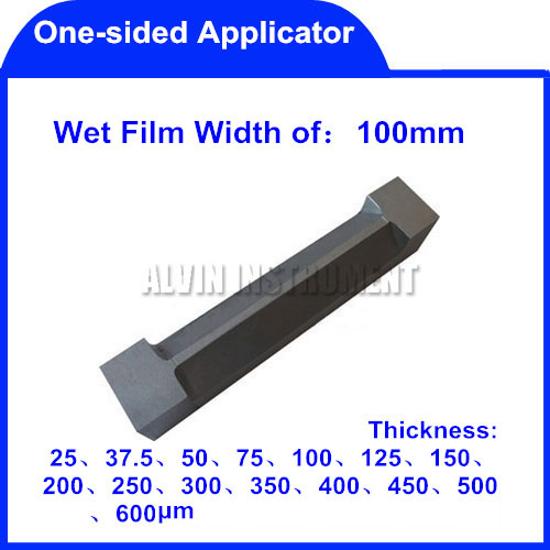 Free Shipping One-sided bar coater Film applicator  film coating bar coating Standars: ASTM D 823-25 and ASTM D 3022  цена и фото