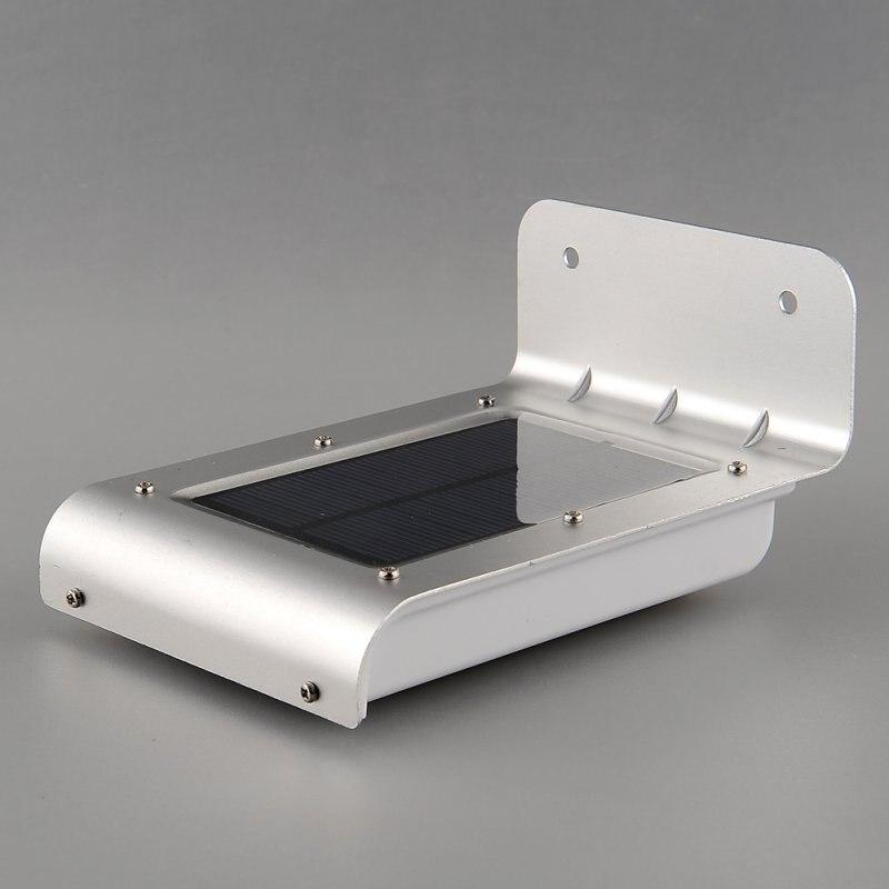 Lightinbox 16 LED Сенсор лампа Водонепроницаемый настенные светильники светодиодные лампы с солнечной Мощность для наружного