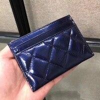 LVLOIV credit card holder for women genuine leather luxury brand bag designer cread card famous brands mini wallet