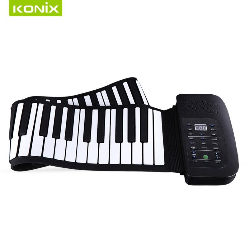 88 Tipke Fleksibilni silicijum Klavir s MIDI i zvučničkim - Glazbeni instrumenti - Foto 5