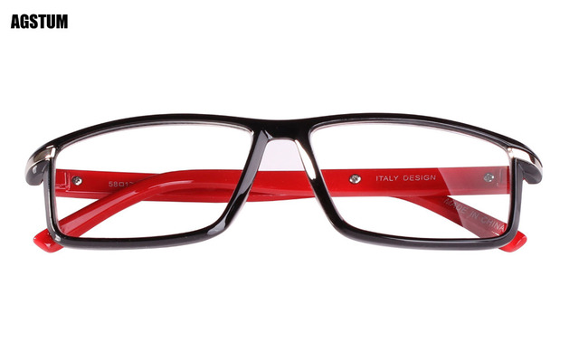 cc83270c7a Agstum Women Men Full Rim 55mm Rectangle Reading Glasses Readers +1 +1.5 +2  +2.5 +3 +3.5