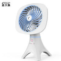 Student spray fan water cooled atomization household humidification mini fan USB charging silent fashion table fan ITAS6633A