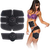 Muscle Stimulator TENS Slimming Full Body Massager Body Sculptor Trainer Butterfly ab Gymnic Belt Massager Pad