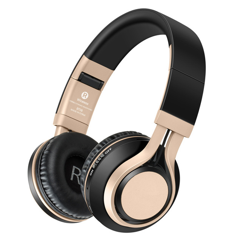 Wireless Headphones Rose Bluetooth Headset Foldable Headphone Adjustable Earphones With Microphone For PC mobile phone Mp3 high quality wireless stereo headphones bluetooth headset earphone earbuds earphones with microphone for pc mobile phone music
