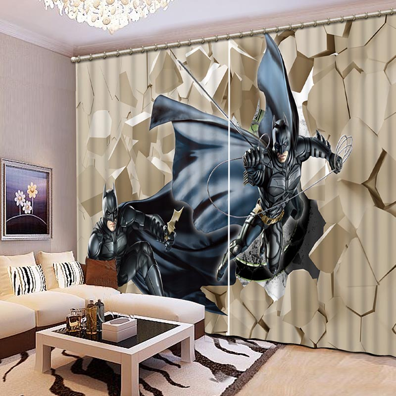 NoEnName Null 3D Printing Curtains Sense Of Force Lifelike Full Shade Bedroom Living Room CL 063
