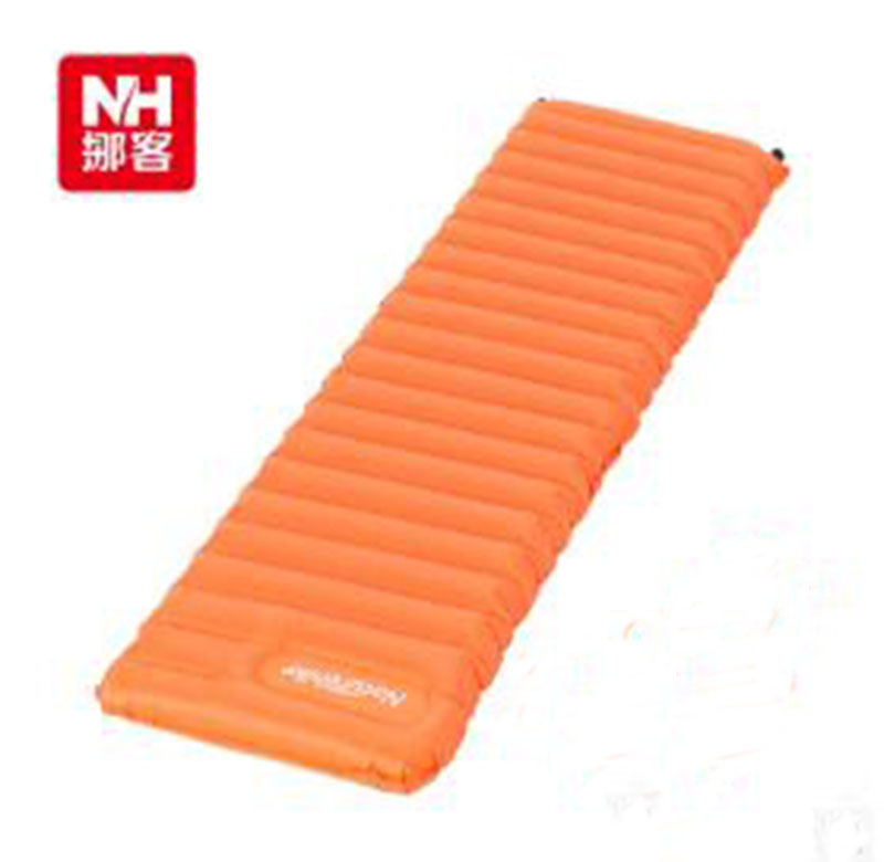 New Manually Inflatable Cushion Camping Mat Tent Air Mattress Outdoor Moisture-proof Pad NH15T051-P все цены
