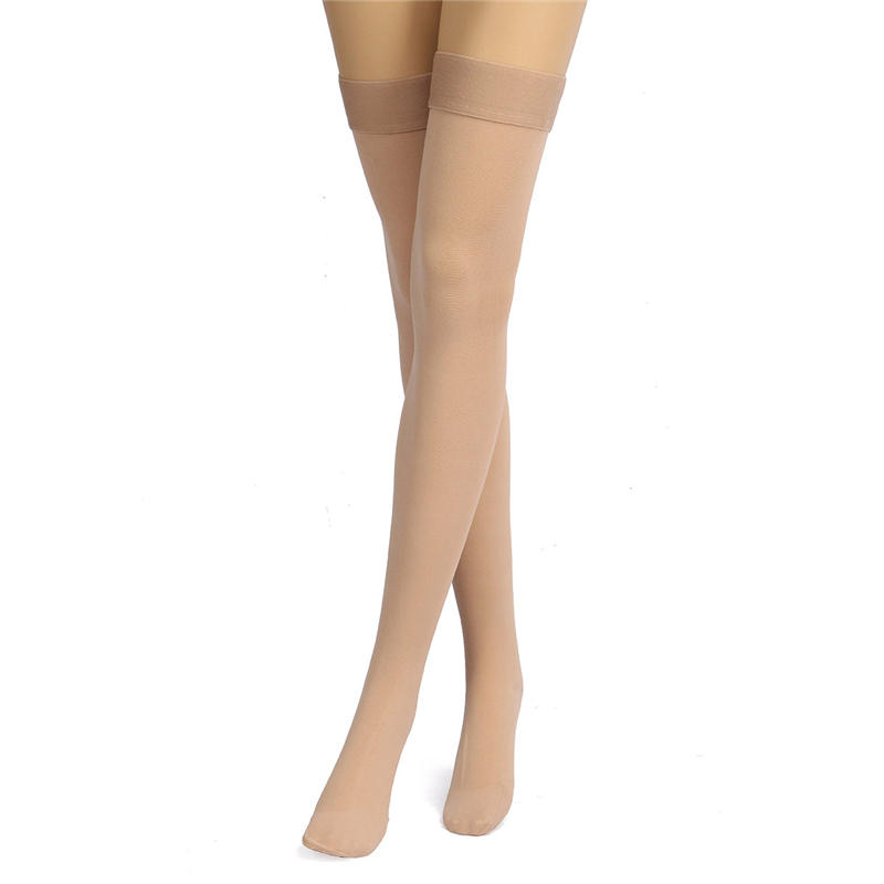 US $15 68 19% OFF|Newest Thigh High Medical Compression Stockings Pressure  Varicose Vein Stocking Leg Relief Pain Support Closed Toe Fitness Socks-in