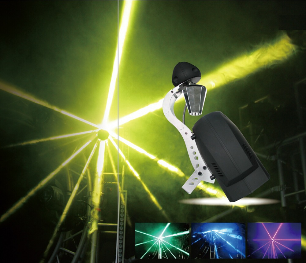 New 5R 7R scanner moving head effect lights, DMX512 strobe beam professional stage laser projector lamps copy brand from China eighty percent new laser head kss 151a