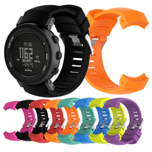 Sport Band For Suunto Core ALU Watch Band Silicone Watch Strap Band Bracelet Outdoor Sports Smart Watchband