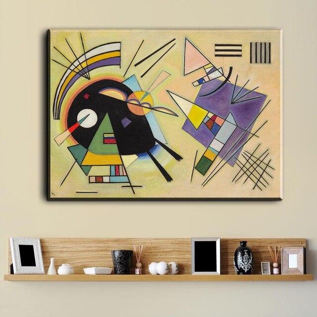 Xdr597 Wassily Kandinsky pintura DIY marco arte posters impresión ...