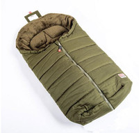 European Style Envelope Type Baby Sleeping Bag Double Zipper Baby Stroller Being Kicked Windproof Warm Baby