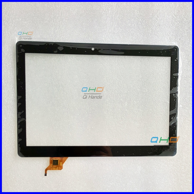 Black New Touch Screen Digitizer For 10.1'' inch FCC0491-3415 Tablet Touch panel glass sensor replacement Free Shipping new white 10 1 inch tablet 10112 0b50550 touch screen panel digitizer glass sensor replacement free shipping