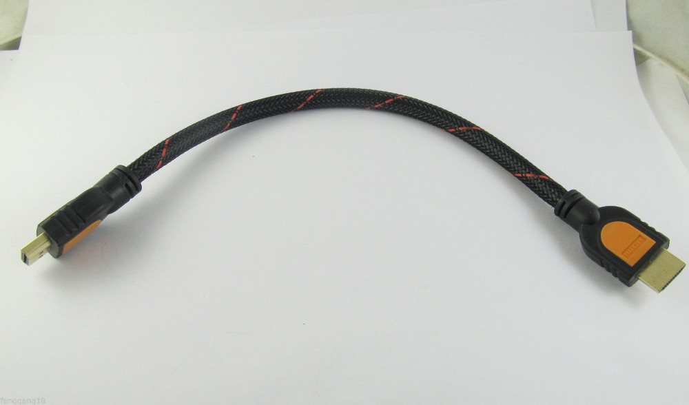 1pc <font><b>HDMI</b></font> Male To <font><b>HDMI</b></font> Male Cable for Computer PS3 LCD HDTV DVD TV Monitor 1080P 30cm & <font><b>50cm</b></font> image
