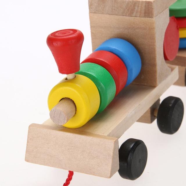 Cute Wooden Train