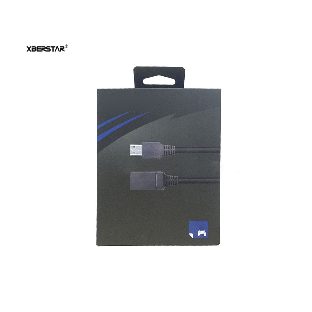 Camera Extension Cable 2m Black Fully Compatible With Playstation VR PS4 Cameras