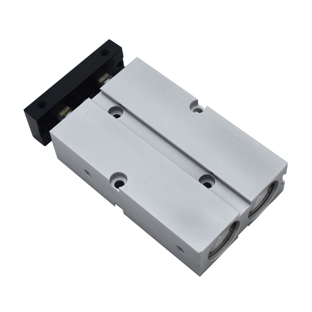 Free Shipping TN Type Pneumatic Cylinder 16mm Bore 10/15/20/25/30/35/40/45/50/60/70/75/80/90/100/125/150mm Stroke Air Cylinder free shipping tn 25 30 airtac type tn series twin rod guide dual shaft guide air pneumatic cylinder tn25 30 tn 25 30 tn25 30