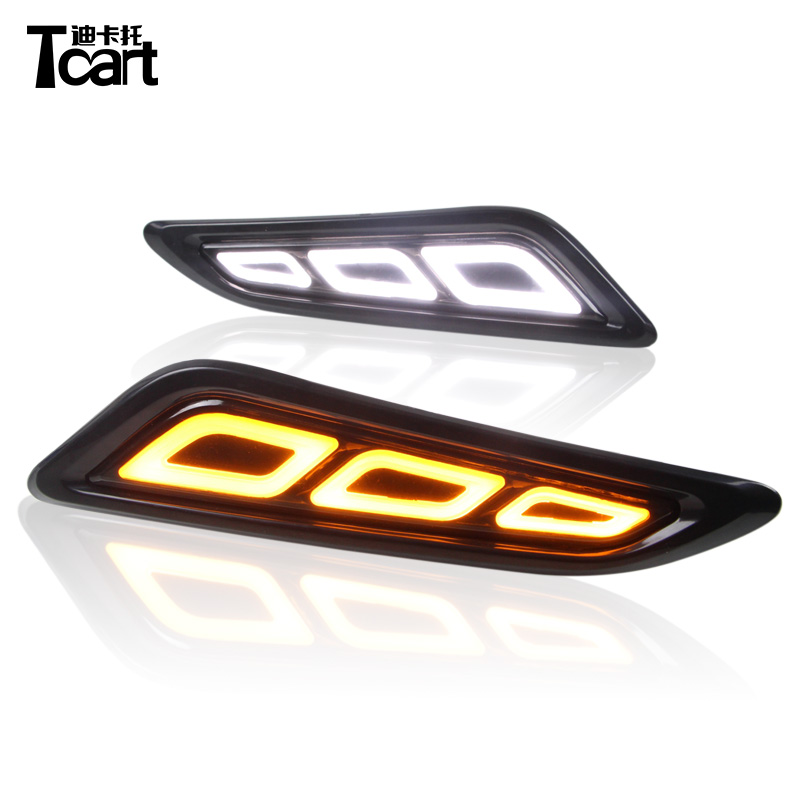 Tcart 2PCS Canbus 12v LED Fender Side Marker Light Turn Signals car accessories for Nissan Patrol 2018