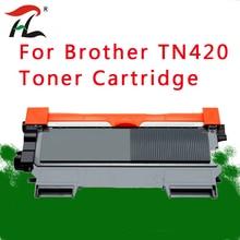 1 قطعة Brother TN420 TN450 TN 420 مسحوق حبر متوافق خرطوشة أسود TN2210 TN2260 TN2215 للطابعات MFC 7860DW DCP 7060D