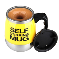 Self Stirring Mug 450ml Automatic Mixing Mug For Coffee Milk Grain Oat Stainless Steel Thermal Cup