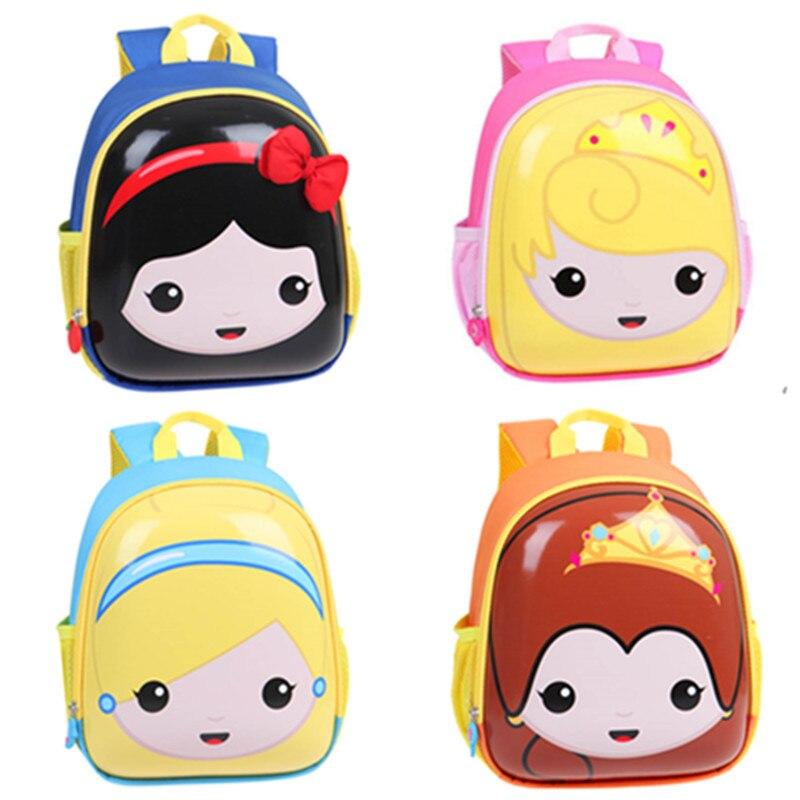 Detail Feedback Questions about Cute Cartoon Princesses Snow White Eggshell Backpack  Kids Baby Kindergarten Preschool Backpacks Schoolbag School Bags for ... 1bb6e995d184a