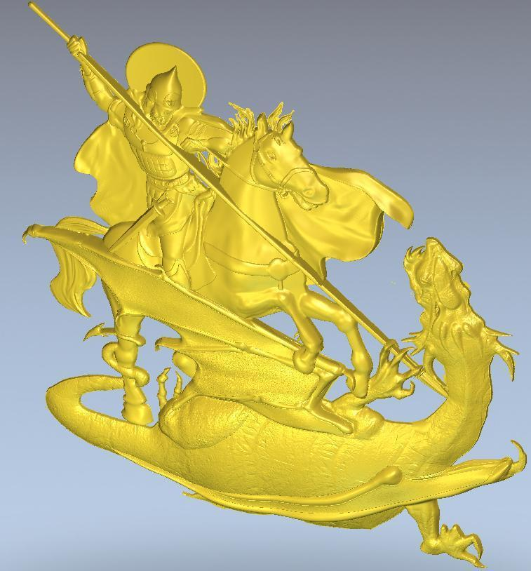 Cnc In STL File Format 3d Model  Relief For Panno_Georgiy_1