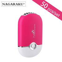 50 pcs wholesale USB Mini Fan Air Conditioning Blower Eyelash Extension Glue Quickly Dry Grafted Eyelashes Dedicated Dryer Makeu