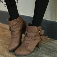 Women S Boots 2018 Hot Sale New Snow Ankle Boots Autumn And Winter Shoes Female Warm