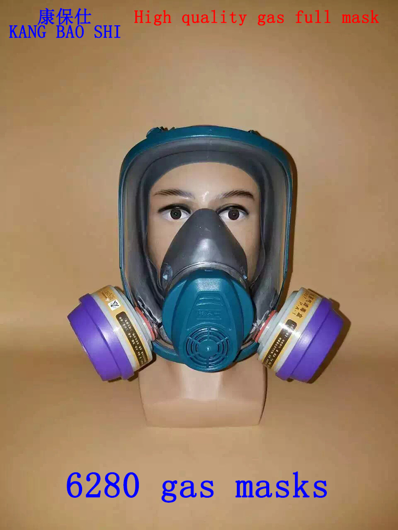 6280 respirator gas mask high quality Brand full face respirator gas mask against Painting pesticide chemical gas mask high quality respirator gas mask brand practical type protective mask painting pesticide industrial safety chemical gas mask