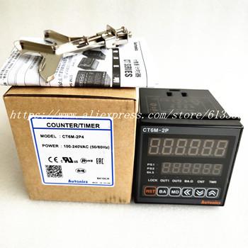 CT6M-2P4 (CT6-2P) 100-240VAC (50-60Hz) nowy oryginalny oryginalny wielofunkcyjny zegar licznik tanie i dobre opinie