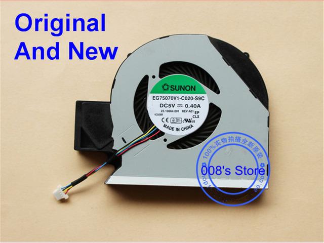 New cpu laptop original ventilador de refrigeração cooler para acer travelmate p643-m p643 p643-mg p643-v eg75070v1-c020-s9c sunon dc 5 v 0.4a