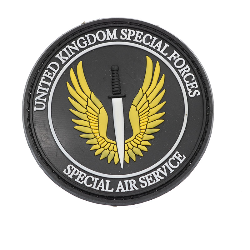 United Kingdom Special Forces Cloth SAS Black Action UK Special Vehicle Parts Air Servic ...