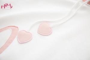 Image 5 - Carino Coniglio Delle Donne Bianco Felpe kawaii Orecchie da Coniglio Carino Grafici Felpe Giapponese Harajuku Dolce Delle Ragazze Rosa Blu Pullover