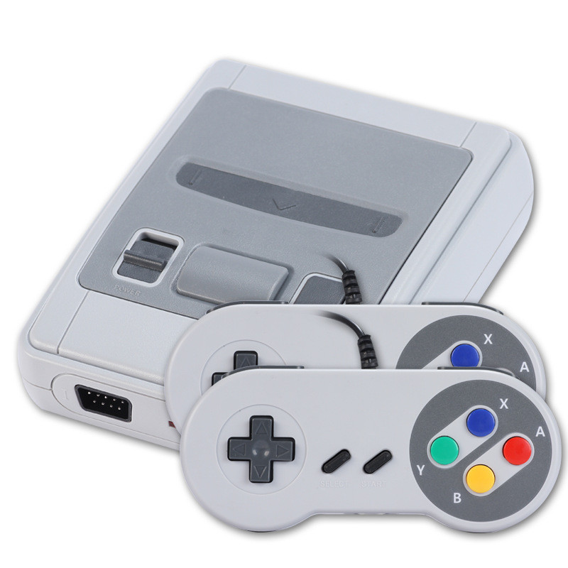 HOT Sell 8 Bit TV Handheld Game Console Retro Mini Video Console For Nes Games With AV/HD Out Built-in 621 Games image