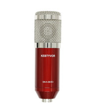 BM800 High Quality Professional Condenser Sound Recording Microphone with Shock Mount for Radio Braodcasting Singing Hot Sell недорого
