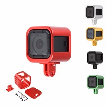 High quality Aluminium Alloy  Protective Case Housing Shell Frame For GoPro Hero 4 Session Gopro Accessories