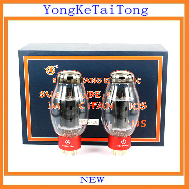 2PCS SHUGUANG Tube WE6CA7 PLUS WE6CA7PLUS Vacuum Tube Replace EL34 EL34B 6P3P 6V6 6L6 6CA7 6CA7-Z Electron Tube