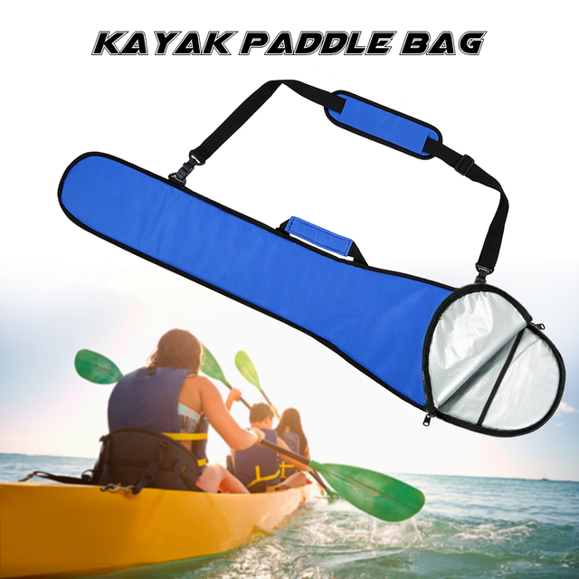 tomshoo m2105 long kayak paddle bag 51 2 11 4in canvas paddle