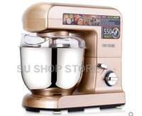 4.5L stainless steel bowl Kitchen 9 Speed Electric dough mixer Tilt Head and Cooking Chef blender Machine