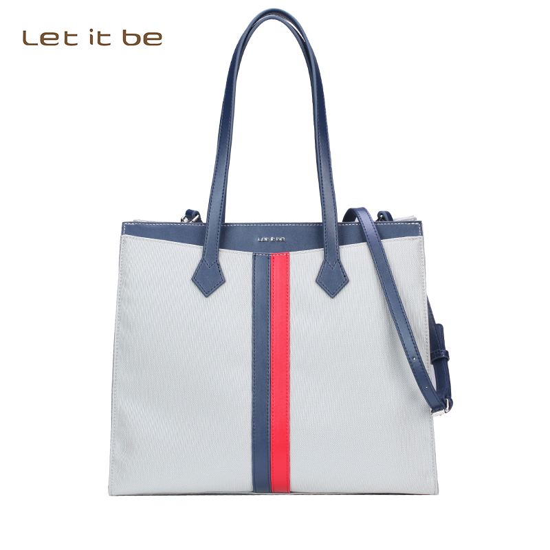Let It Be 2017 T-pattern Tote bag fashion women shoulder bag oxford nylon waterproof casual handbag 2 colors women handbag shoulder bag messenger bag casual colorful canvas crossbody bags for girl student waterproof nylon laptop tote