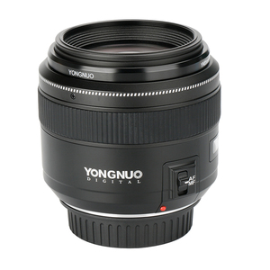 Image 5 - YONGNUO YN85mm F1.8 מצלמה עדשה עבור Canon EF הר EOS 85mm AF/MF סטנדרטי בינוני טלה קבוע מוקד עדשת מצלמה