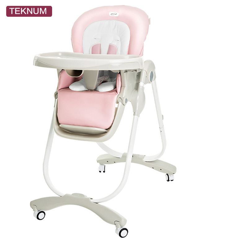 Baby dining chair Europe curved design luxury baby learn to sit chair light can fold the baby to eat dinner chair bair baby eat chair foldable portable multifunctional baby table european children learn to sit on the chair href