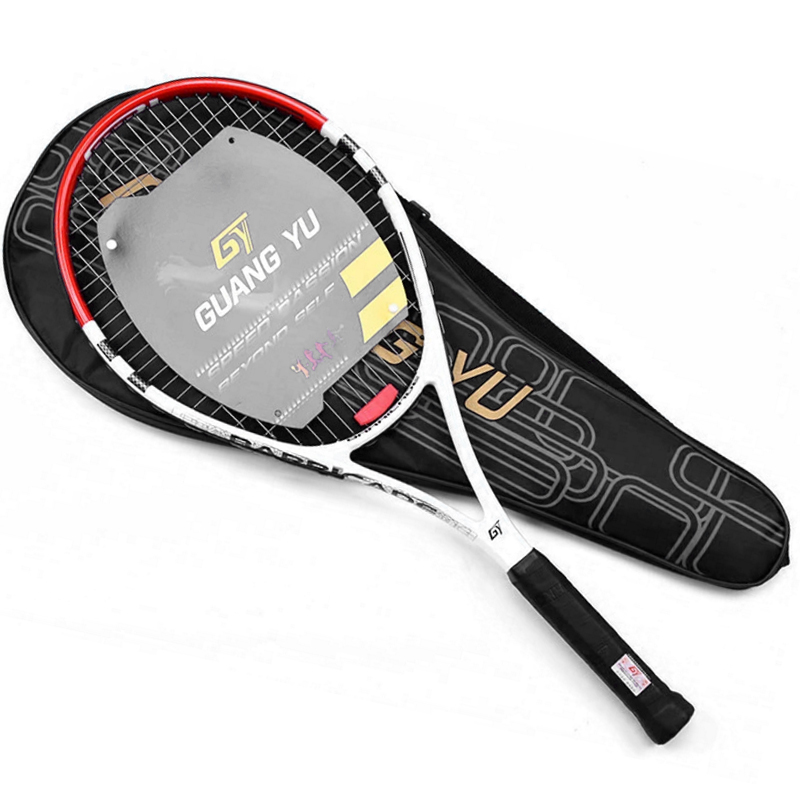 Ultralight Training Carbon Tennis Rackets Bag Tennis Stringing Racquet Racket 4 3/8 Racchetta Tennisracket Raqueta Tenis цена